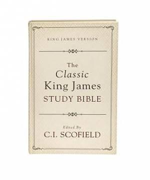 Classic King James Study Bible Edited By C I Schofield Hardback