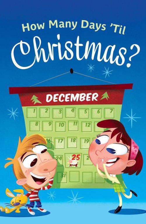 How Many Days Til Christmas.How Many Days Til Christmas Pack Of 25