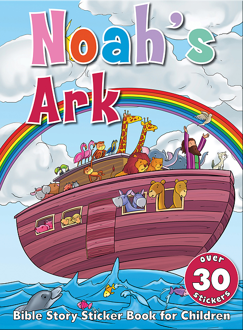 Bible Story Sticker Book For Children: Noah's Ark: Free Delivery