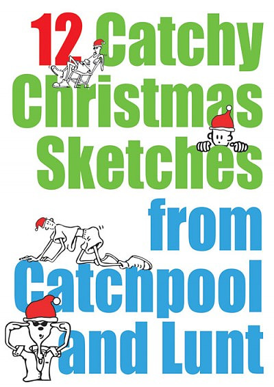 Christmas Sketches.12 Catchy Christmas Sketches
