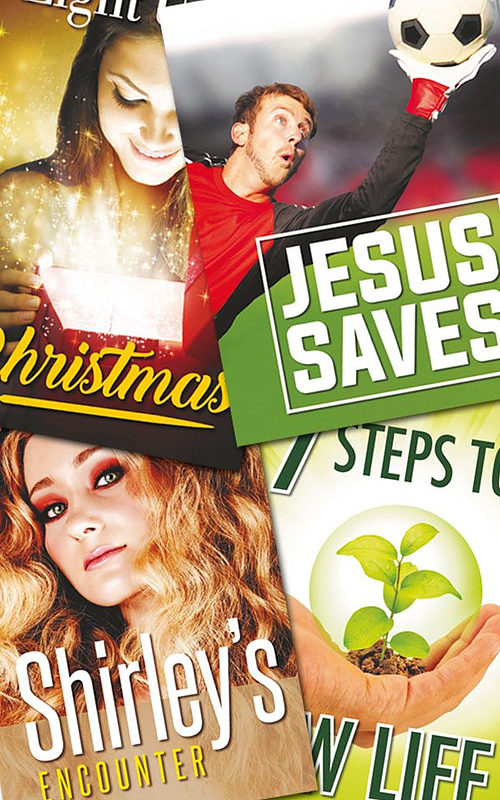Sample Pack of Gospel Tracts | Free Delivery when you spend £10