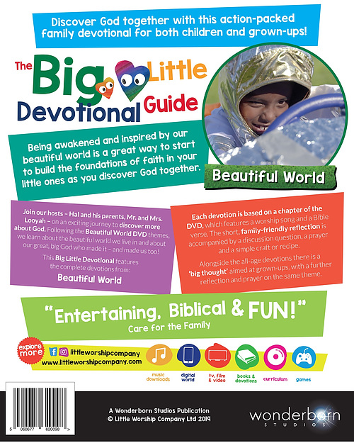 Beautiful World Devotional by Little Worship Company   Eden co uk