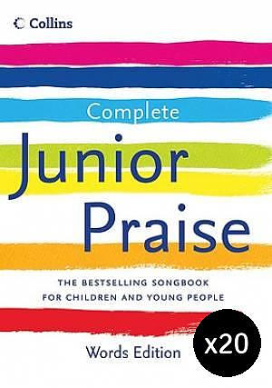 Complete Junior Praise: Words Edition Pack of 20