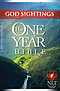 NLT God Sightings The One Year Bible: Paperback