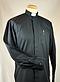 Men's Black Clerical Shirt 16.5