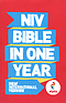 NIV Alpha Bible in One Year: Paperback