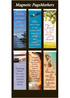 Amazing Grace Magnetic Page Markers - Pack of 6