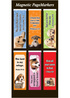 Lord Is My Refuge Magnetic Page Markers - Pack of 6