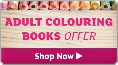 Banner: Adult Colouring Books Offer - Save up to 25%