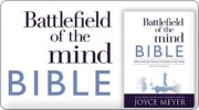 Banner: Joyce Meyers Battlefield of the Mind Bible