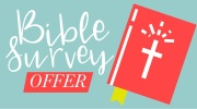Banner: Bible Survey Offers