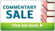 Banner: Commentaries Sale - Save up to 40%