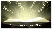 Banner: Commentaries Offer