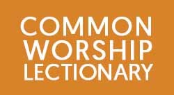 Banner: Common Worship Lectionary 2019