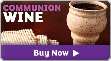 Banner: Communion Wine
