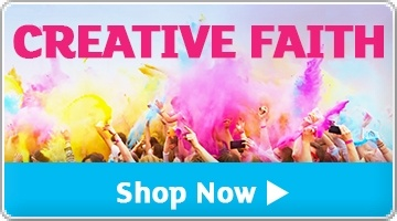 Banner: Creative Faith Offer - Save up to 25%