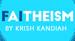 Banner: Faitheism by Krish Kandiah