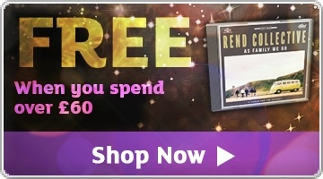 Banner: FREE Rend Collectives As Family We Go CD when you spend over £60