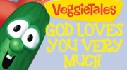 Banner: God Loves You Very Much - Veggie Tales DVD