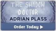 Banner: The Shadow Doctor by Adrian Plass