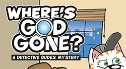 Banner: Wheres God Gone? by Andy Robb