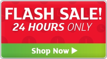 Banner: Flash Sale - 24 Hours ONLY