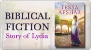 Banner: Bread Of Angels by Tessa Afshar