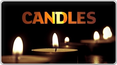 Banner: Candles for All Occasions