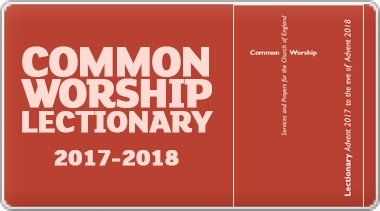 Banner: Common Worship Lectionary 2017-2018
