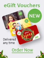 Banner: eGift Vouchers from Eden.co.uk