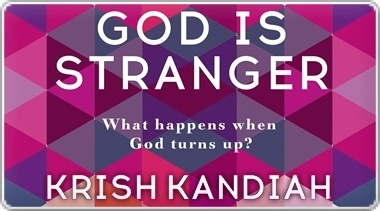 Banner: Krish Kandiahs God is Stranger