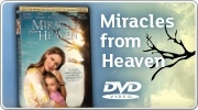Banner: Miracles from Heaven DVD