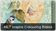 Banner: NLT Inspire Colouring Bibles