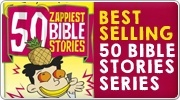 Banner: 50 Zappiest Bible Stories by Andy Robb