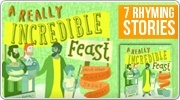 Banner: A Really Incredible Feast - 7 Rhyming Stories