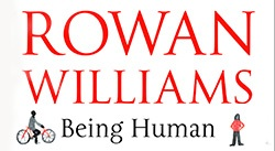 Banner: Rowan Williams Being Human