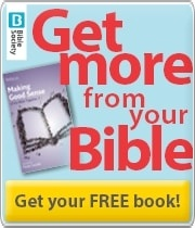 Banner: Bible Society Ad