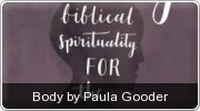 Banner: Body by Paula Gooder