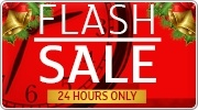 Banner: Flash Sale - 24 Hours Only!