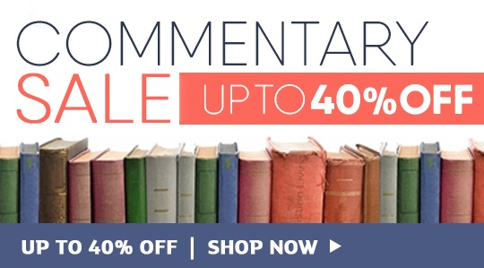 Commentary Sale - Save up to 40%