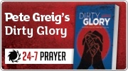 Banner: Pete Greigs Dirty Glory