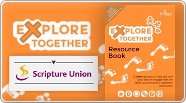 Banner: Explore Together Orange - All Age Resource