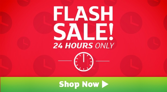 Flash Sale - Save up to 88%