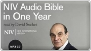 Banner: NIV Audio Bible in One Year