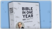 Banner: David Suchets NIV Audio Bible in One Year