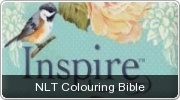 Banner: NLT Inspire Colouring Bible