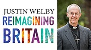 Banner: Reimagining Britain by Justin Welby