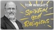 Banner: Spiritual and Religious by Tom Wright