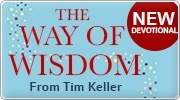 Banner: Tim Kellers New 365 Day Devotional