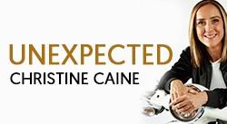 Banner: Unexpected by Christine Caine